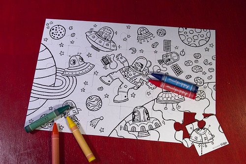 Outer Space puzzle