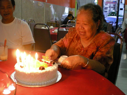 MIL's 77th birthday