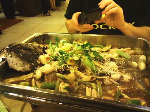 Shanghai whole steamed fish