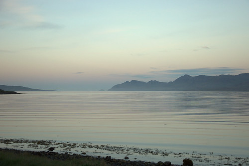 Sunset in the Eastern Fjords...