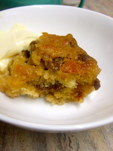 Sticky Toffee Pudding Serving