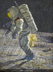 One Lucky Guy, by Alan Bean