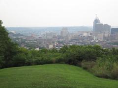 Overlooking Downtown Cincinnati, OTR, and Pendleton