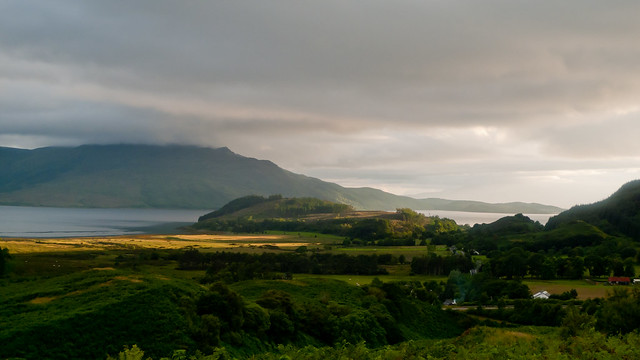View towards Loch Alsh
