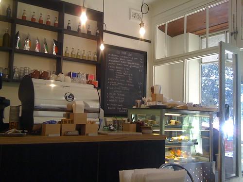 interior - store espresso, camperdown