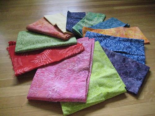 Fabrics for DSQ9