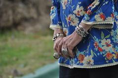 Jacqueline Wilson's hands