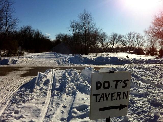 Dot's Tavern - That way.
