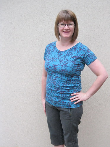 side draped top toile