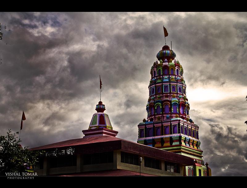 Kadaji temple, Indori fort,Talegaon,Pune,India.