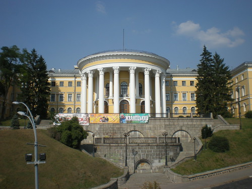 Formerly the October Palace