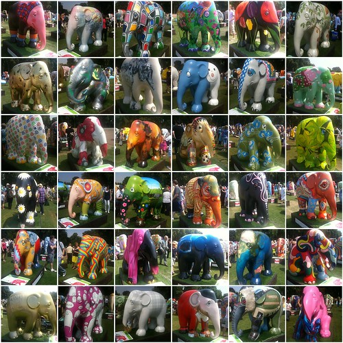 Elephant Mosaic 6