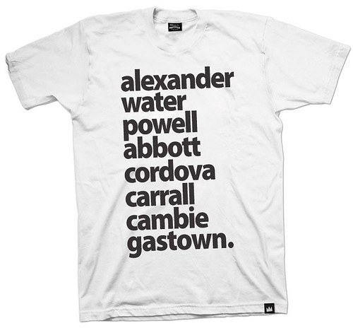 gastown streets W&B