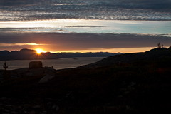 Rising Sun - Andörja - North Norway