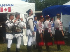 Romanian dancers