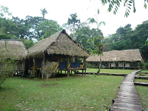 Unsere Lodge im Cuyabeno Dschungel