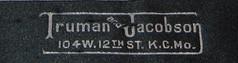 Truman & Jacobson Haberdashery label