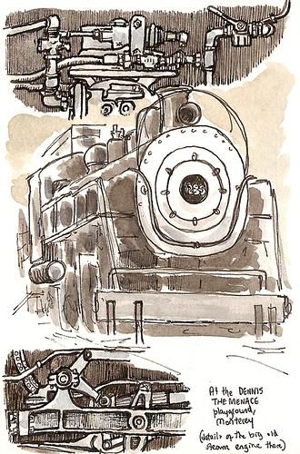 monterey steam engine