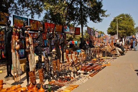 art market in Maputo
