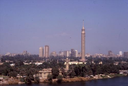 Cairo Tower, 1979