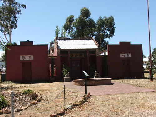 Chinese Joss House In Bendigo