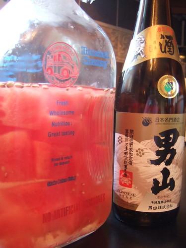 Watermelon sake