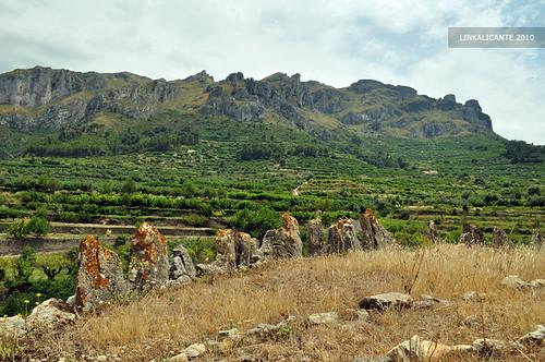 Vall de Gallinera, Ruta de los 8 pueblos