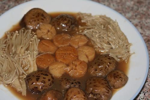 雙菇燴瑤柱
