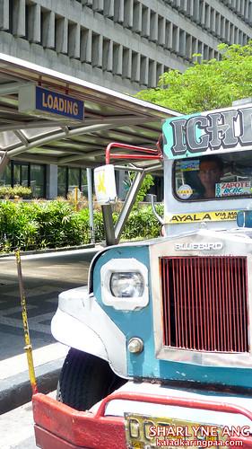 Jeepney in Loading Zone (Makati)