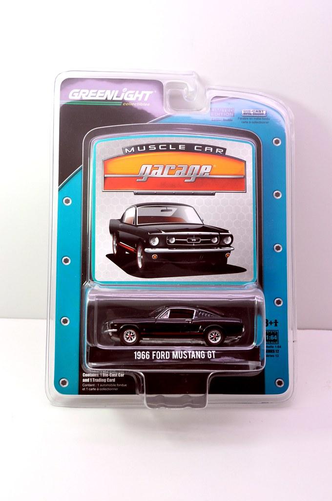 greenlight 1966 ford mustang gt (1)