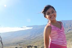 Jaclyn at Haleakala