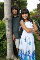 Alex & Jaclyn at the Hyatt Luau