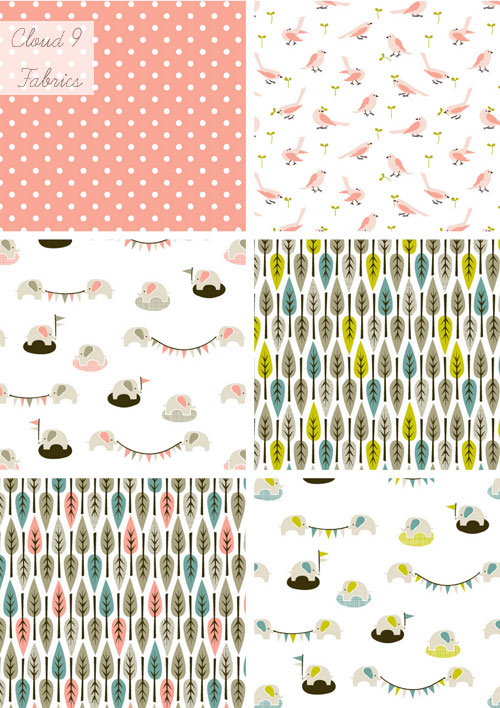 Cloud 9 Fabrics: Organic & Cute!