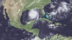Hurricane Katrina Video from NASA GOES Satellite