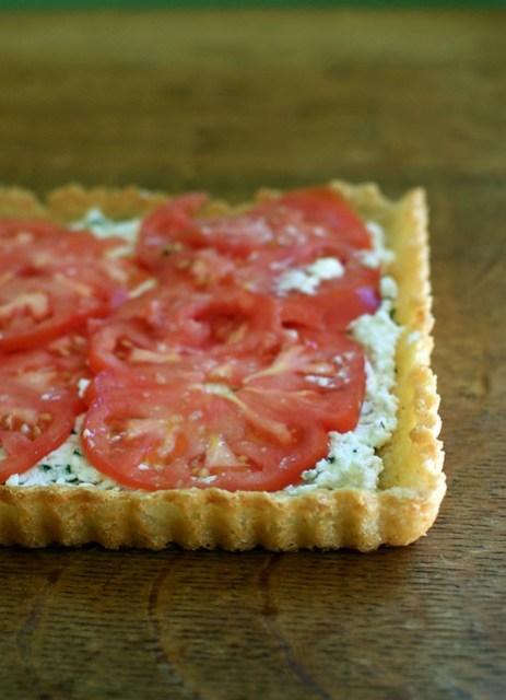 gluten-free tomato tart