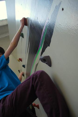 lev climbing