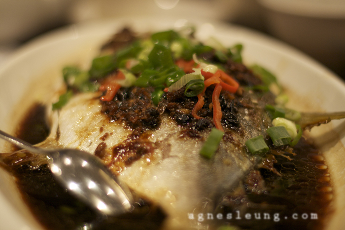 Chinese style steam fish