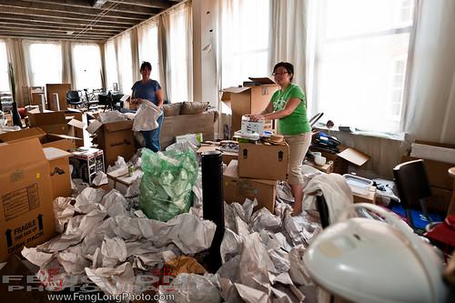 195/365 - Candice & Betty Unpacking