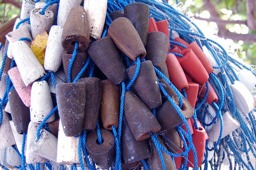 Fishing Nets on Atauro Island