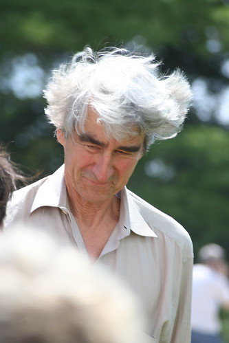 Sam Waterston (sorry about the hair shot. I think you are awesome.)