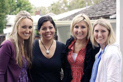 Marie, Jen, Jennifer and Angela