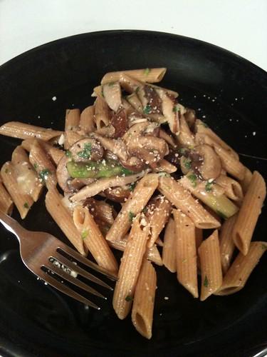 Asparagus Pasta II