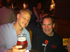 With Jim Caruso of Flying Dog