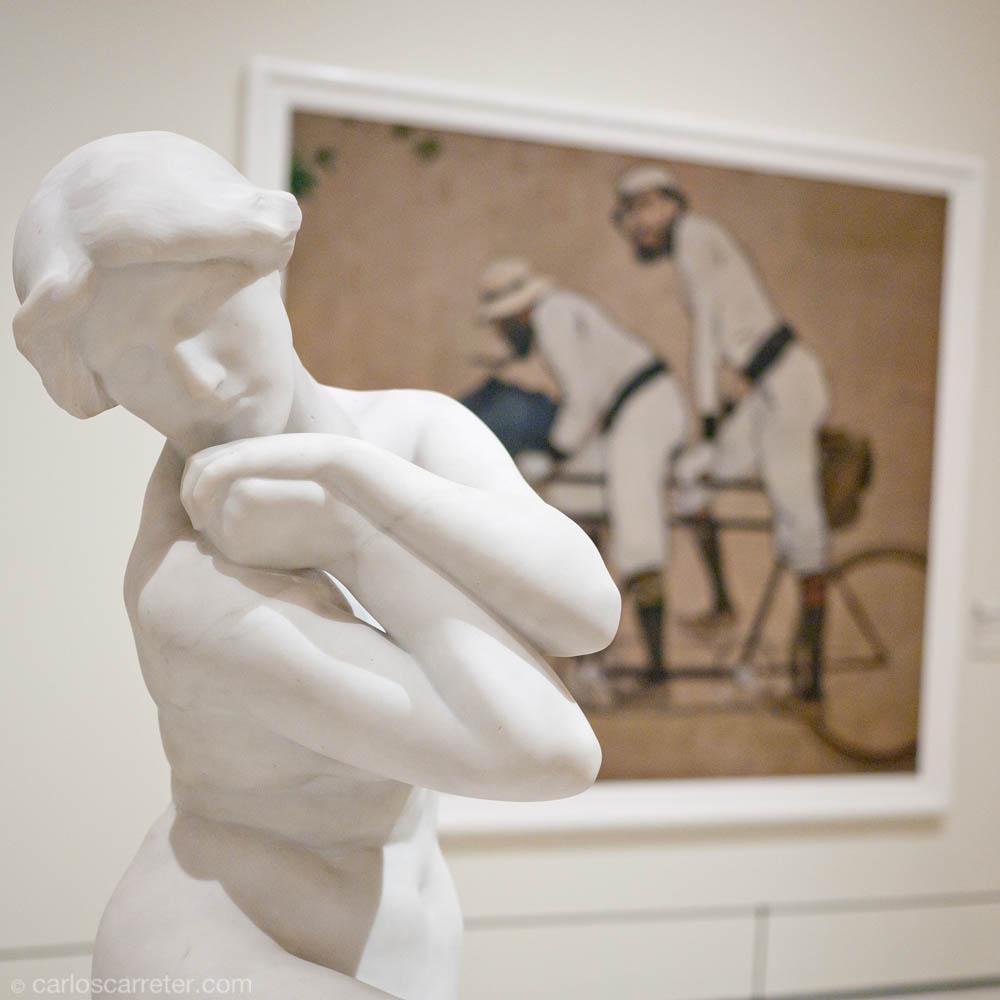 ¿Qué mira el ciclista de Ramon Casas?