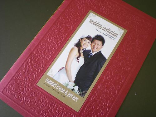 Wedding invitation - now 1