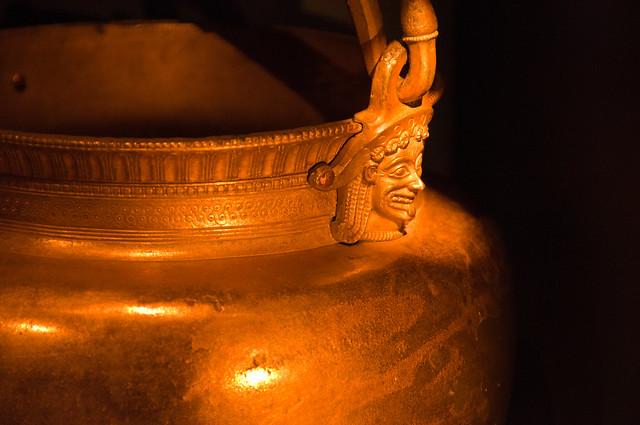 Decoration on a pot