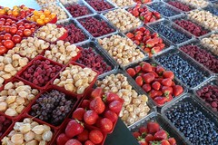 Marché Jean-Talon : Petits fruits / Small fruits