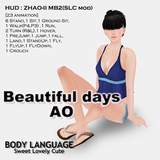 Beautiful days AO set