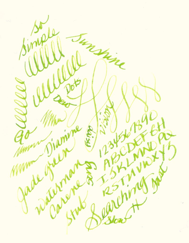 Diamine Jade Green Ink