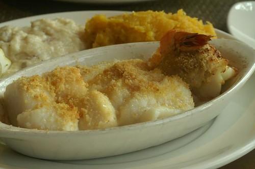 Marshside Baked Seafood Platter